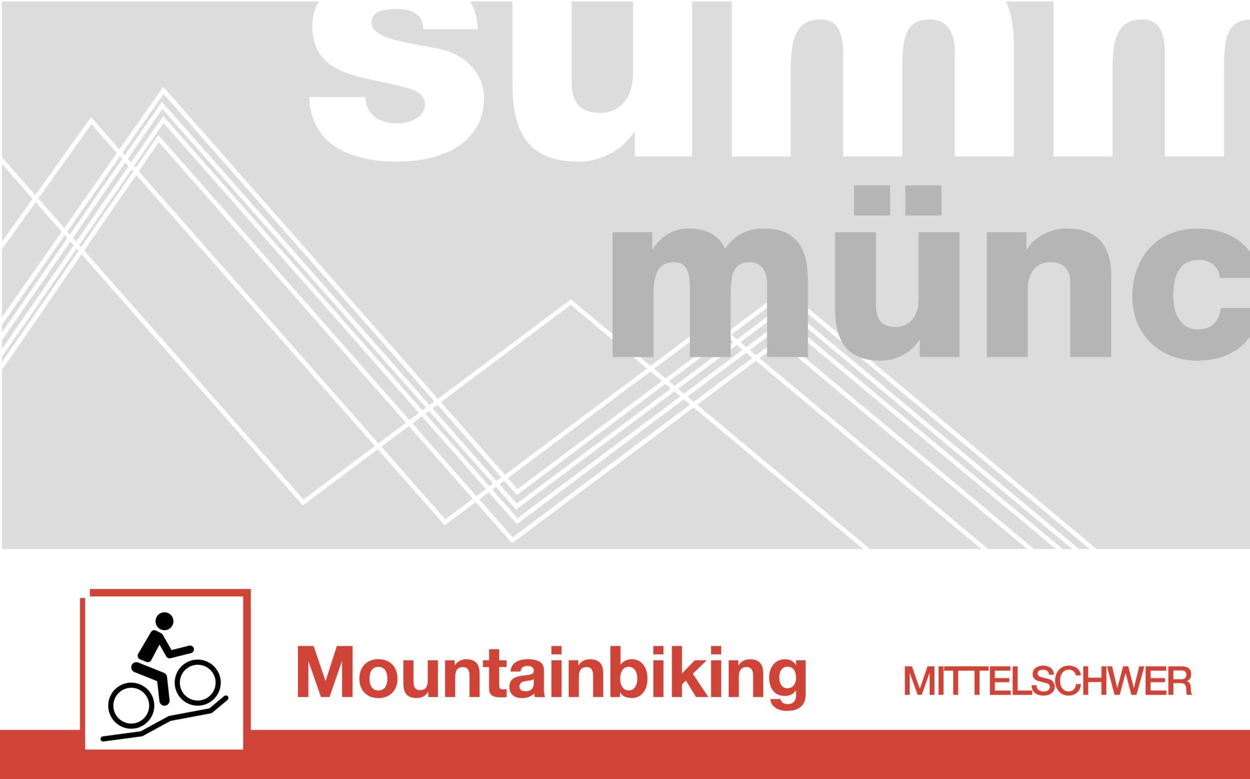 Mountainbiking mittelschwer