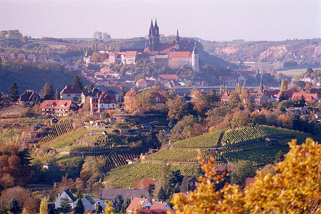 Meißen mit Albrechtsburg